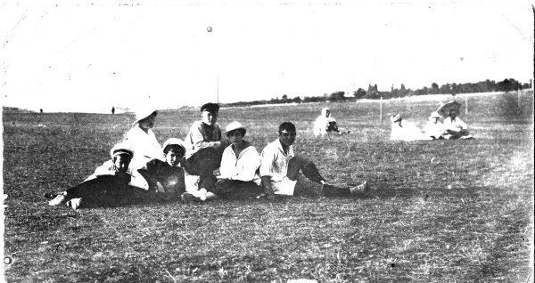 Болельшики на Куликовом поле.
