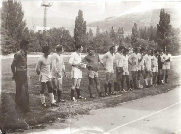 Команда Золотой балки - победитель Первенства района