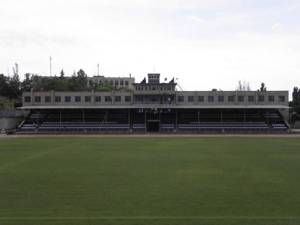 Старый стадион СК Севастополь центральная трибуна