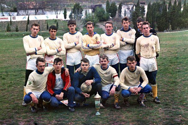 ЧВВМУ финалисты кубка города 1980г.