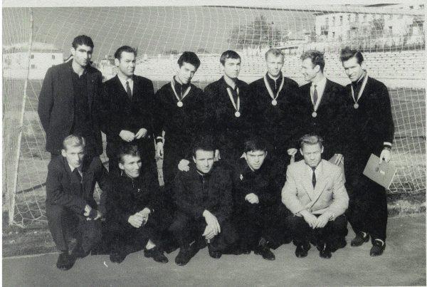 Металлист Чемпион Украины 1966 года