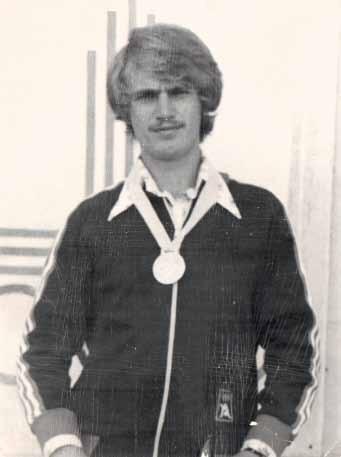 Я в 1977 году.