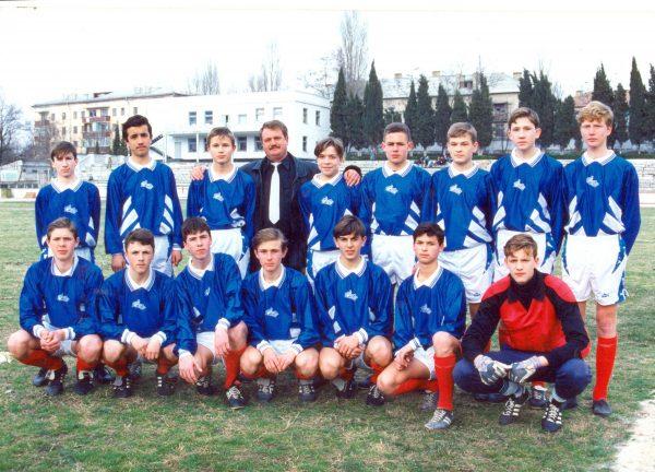 Стадион Металлист. Команда Виктория 1981 г.р. на турнире памяти ГСС И. Голубца
