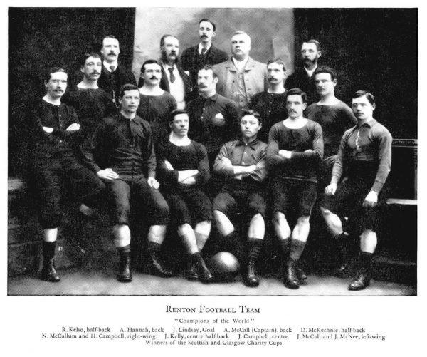 Renton football team 1872 г.