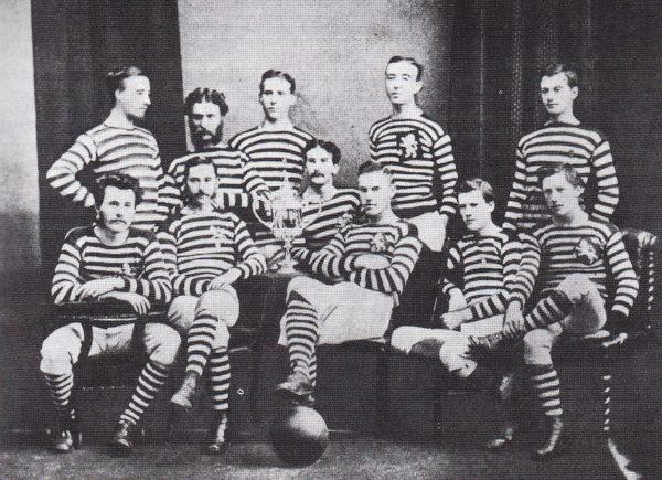 Команда Грин парк 1874 г.