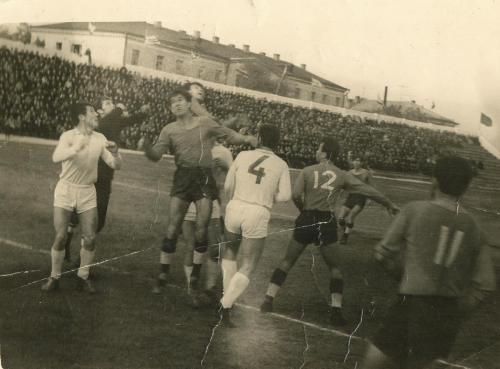 Стадион Чайка 1964 год. Момент игры 2