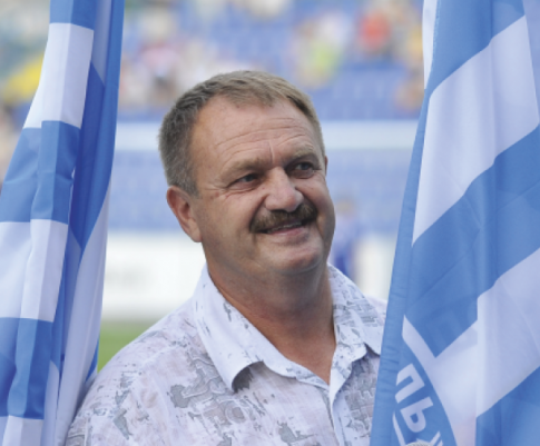 Вице-президент, спортивный директоФК Севастополь Репенков Е. Е.