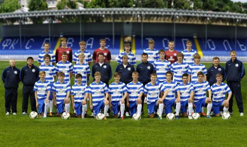Молодежка U-19 в 2012 г.