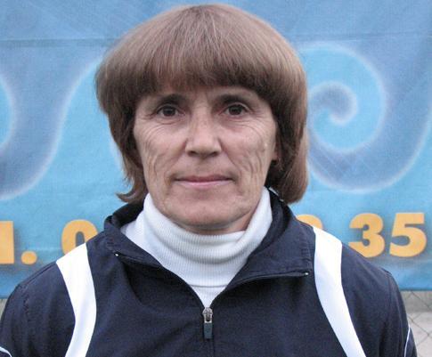 Тренер по легкой атлетике Федотова Людмила Федоровна