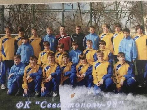 Михеев А. и Берсенев Е. с командой 1998 г.р.