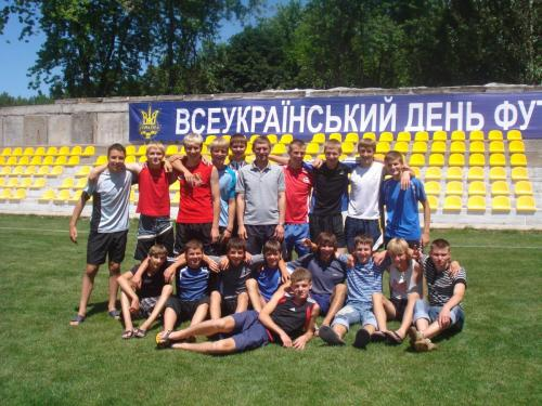 Белобаба А. Команда 1992 г.р. на финале в Никополе в 2008 г.