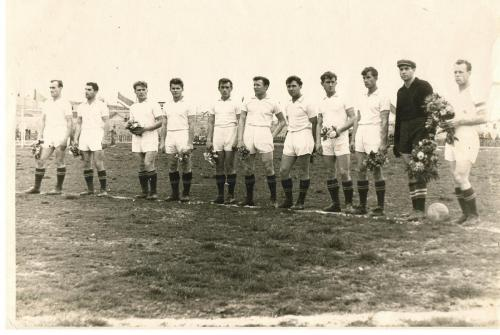 СКЧФ в Симферополе на игре открытия сезона 1959 г