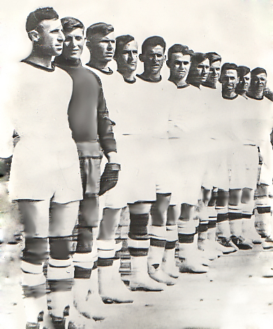Сборная СевМорЗавода в 1940 году