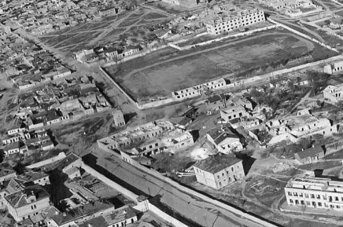 Стадион Севморзавода после войны