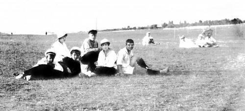 Болельшики на Куликовом поле 1915 г.