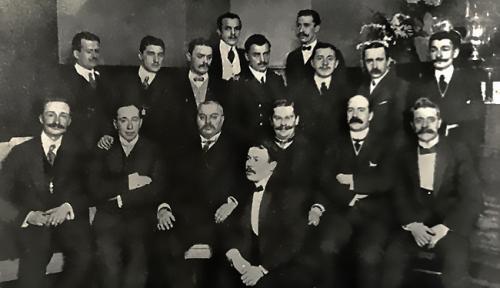 Учредители Всероссийского Футбольного Союза 1912г.