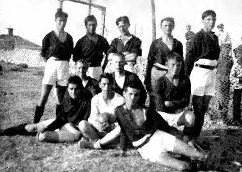 Знаменитая Севастопольская команда Рекс 1920 г.