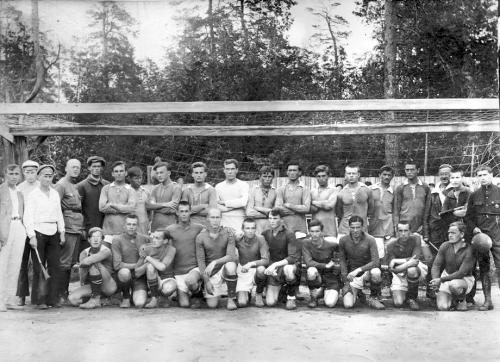 Московский ОППВ (предшественник ЦСКА) и РЕКС. 27.07.1921 г.