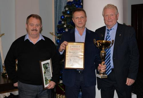 Награды от Федерации футбола и Олимпийского Комитета Российской Федерации.