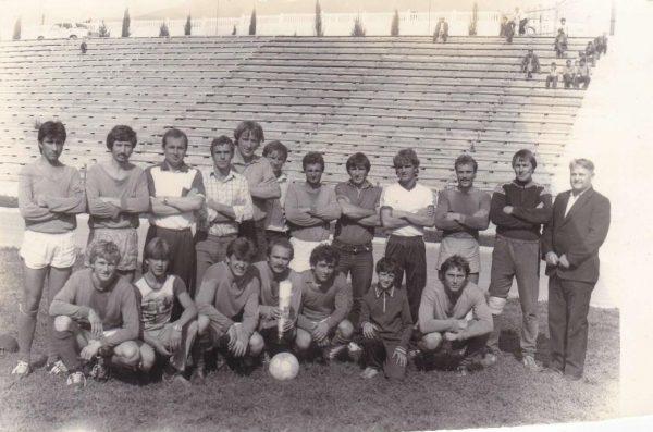 Строитель 1991 г. Игра в Бахчисарае на ведомственных соревнованиях.