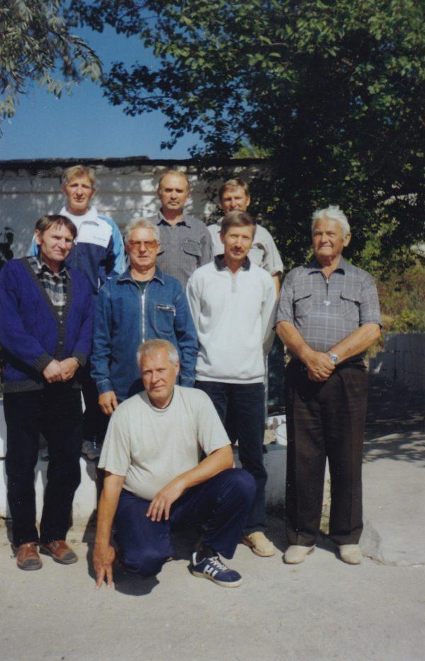 Ветераны Инкерманского футбола. 2011 год.